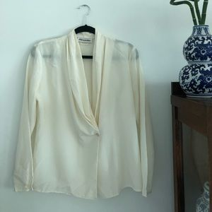 Vintage Silky Blouse